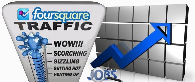 Buy Foursquare Web Traffic