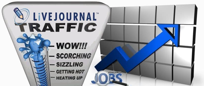 Buy LiVEJOURNAL Web Traffic