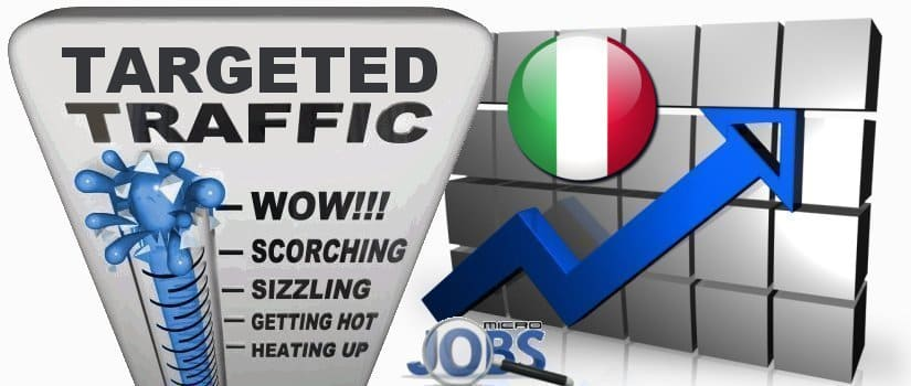 Buy Targeted Italy Traffic