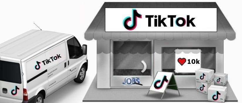 Buy 10.000 TikTok likes/hearts